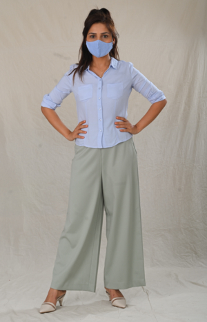 Back to Work Button down- 30looks-6425