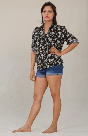 In Love Floral Shirt- 30looks