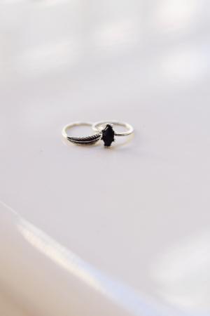 Jade Ring Set