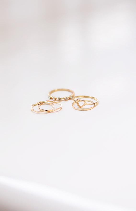 Tori Stackable Ring Set