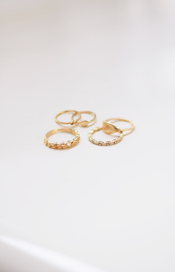 Florence Stackable Ring Set