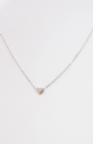 Emma Necklace in Silver