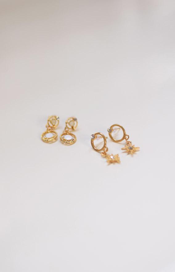 Hazel Earrings- Set of Two