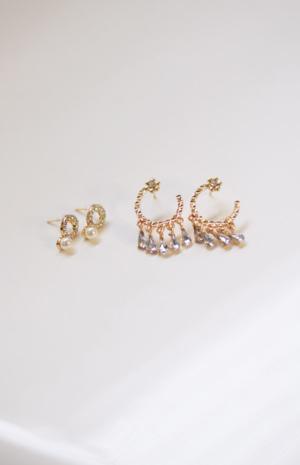 Anya Earrings- Set of two
