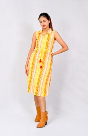 Aztec Shirt Dress